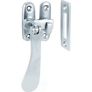 4Trade Sash Window Fastener Nickel Plated
