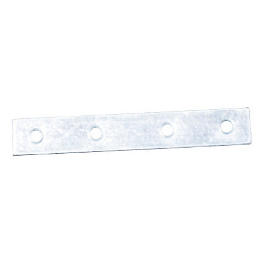 4Trade Mending Plates Zinc Plated 100mm Pack of 4