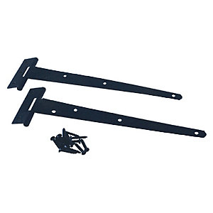 4Trade Tee Hinge Light Duty Black 250mm