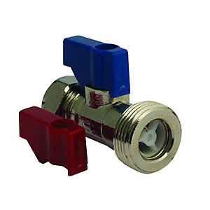 Straight Connector 15mm x 3/4in Pack 10