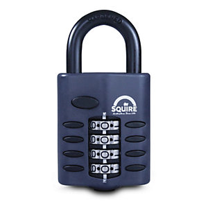 Squire CP50 50mm Recodeable Combination Padlock