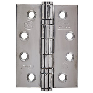 Eclipse Fire Door Hinge Grade 7 Polished Stainless Steel 76mm