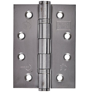 Eclipse Grade 11 Hinge Ball Bearing Satin Stainless Steel 4 Inch