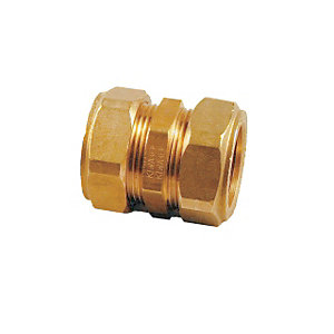 Compression Straight Coupling Fitting 15mm