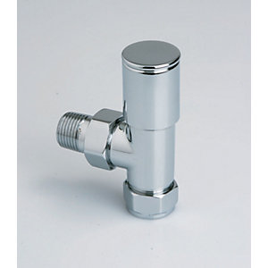 iflo 15mm Column Angled Radiator Valves (Pair)