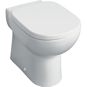 Armitage Shanks V391001 Sandringham Wall Mounted WC with Horizontal Outlet White