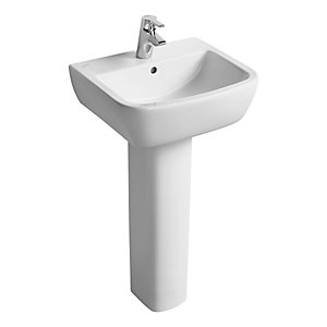 Ideal Standard Tempo 50cm Washbasin 1 Taphole (Basin Only) T058801