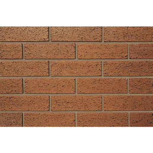 Ibstock Facing Brick Throckley Mixed Textured - Pack of 500