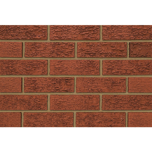 Ibstock Facing Brick Atlas Stratford Red Rustic - Pack of 400