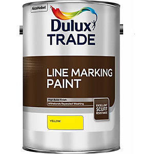 Dulux Line Marking Paint Yellow 5L