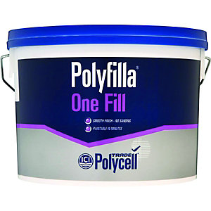 Polycell Polyfilla One Fill Lightweight Filler - 4L