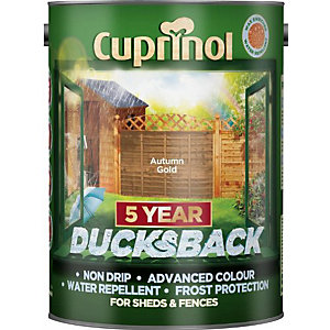 Cuprinol Ducksback Shed + Fence Treatment 5L