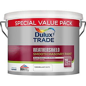 Dulux Smooth Masonry Paint Pure Brilliant White 7.5L