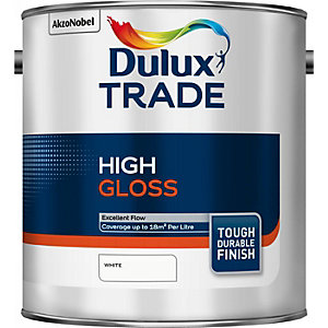 Dulux Trade High Gloss Paint Whit