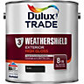 Dulux Paint Weathershield Gloss Black 2.5L
