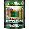 Cuprinol Ducksback Quick Drying Shed and Fence Treatment Forest Green 5L 5092438