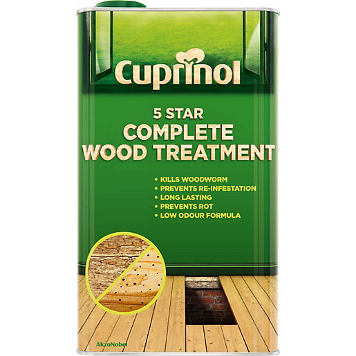 Cuprinol 5 Star Complete Wood Treatment (Wb) 5L