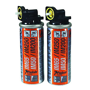 Paslode 300341 IM250 Finishing Nailer Gas Fuel Cells - Pack of 2