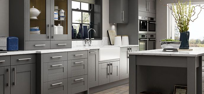 Kitchen Trends Wickescouk - Slate grey kitchen units