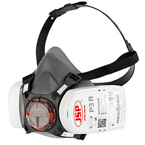JSP Force 8 Half-Mask with Press To Check P3 Filters - Medium