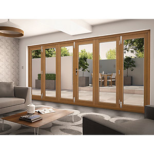 Solid Oak Folding Patio Doors Folding Sliding Patio