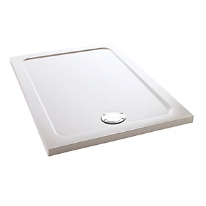 Mira Flight Safe 1.1697.018.AS Low Level Shower Tray 0 Upstands 900 x 1200mm