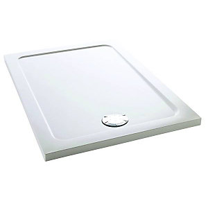 Mira Flight Safe 1.1697.001.AS Low Level Shower Tray 0 Upstands 760 x 1700mm