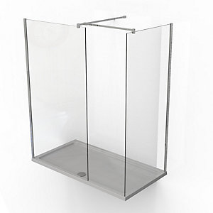 Kudos Ultimate2 Walk In Shower Enclosure Corner Pack 1700mm