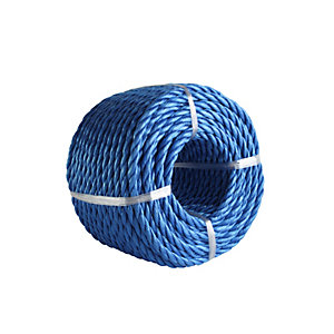 4Trade Polyprop Blue Rope Coil 30m x 6mm