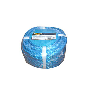 4Trade Polyprop Blue Rope coil  30m x 12mm