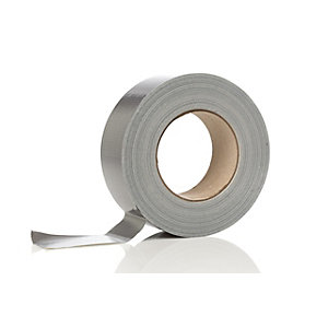 Grey/Silver Duct Tape 48mm x 50m