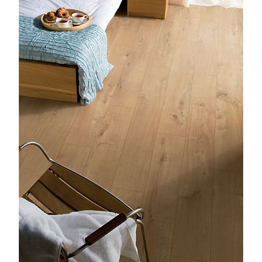 Kronospan Original Sherwood Oak Laminate Flooring 1285mm x 192mm x 12mm