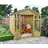 Bloxham Summerhouse Shiplap Apex Pressure Treated 2133mm x 1524mm
