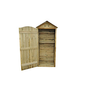 Tall Garden Store Pressure Treated 1290mm x 1830mm x 880mm