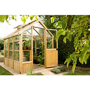 Vale Pressure Treated Greenhouse 2438mm x 1829mm