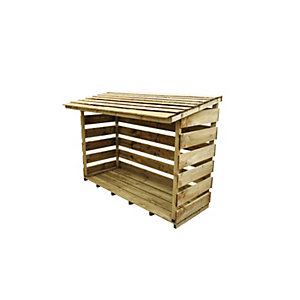 Large Woodstore - Pressure Treated 1290mm x 1830mm x 880mm