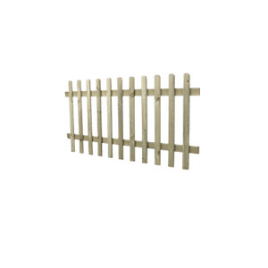Round Top Pressure Treated Picket Fence 1830mm x 900mm