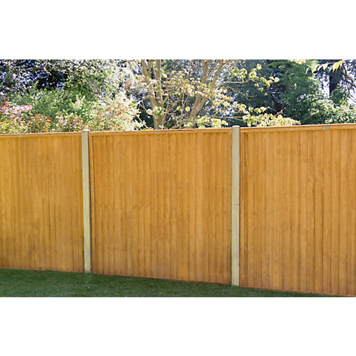 Forest Garden Closeboard Fence Panel 1830 mm (W) x 1828mm (H) FB66 - 6 ft x 6 ft (Minimum Order Qty of 2)