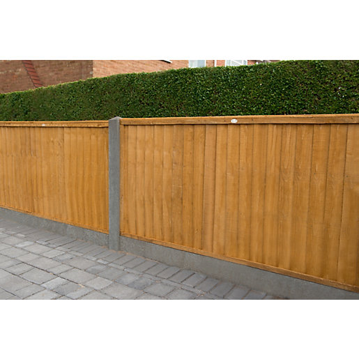 Close Board Fence Panel Dip Treated 6ft x 4ft (1.83m x 1.22m)