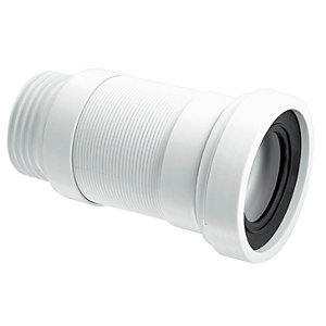 McAlpine Flexible WC Connector WC-F26R