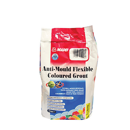 Mapei Anti Mould Ultra Color Plus Grout Anthracite 5kg