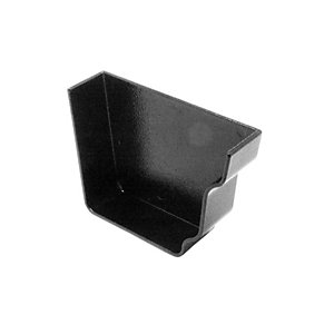 Alutec Evolve Ogee Stop End Right Hand Internal Heritage Black