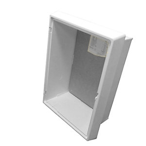 Mitras Recessed Electric Meter Box White Box Only