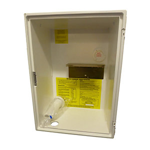 Mitras Recessed Gas Meter Box White Box Only
