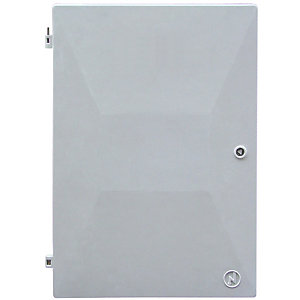 Mitras Recessed White Electric Meter Box Spare Door 383mm x 550mm