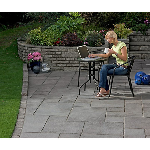 Marshalls Firedstone Dusk Paving Patio Pack 5m2
