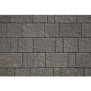 Marshalls Drivesett Argent Graphite Block Paving Project Pack 10.75m2