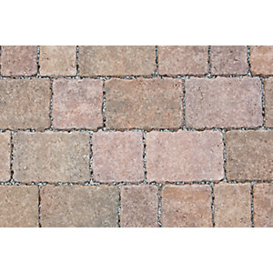 Marshalls Drivesett Tegula Priora Traditional Block Paving Pack 240mm x 160mm x 60mm