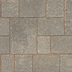 Marshalls Drivesett Tegula Original Pennant Grey Block Paving 240mm x 160mm x 50mm - Pack of 284