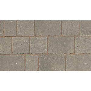 Marshalls Drivesett Tegula Original Pennant Grey Block Paving 120mm x 160mm x 50mm - Pack of 606